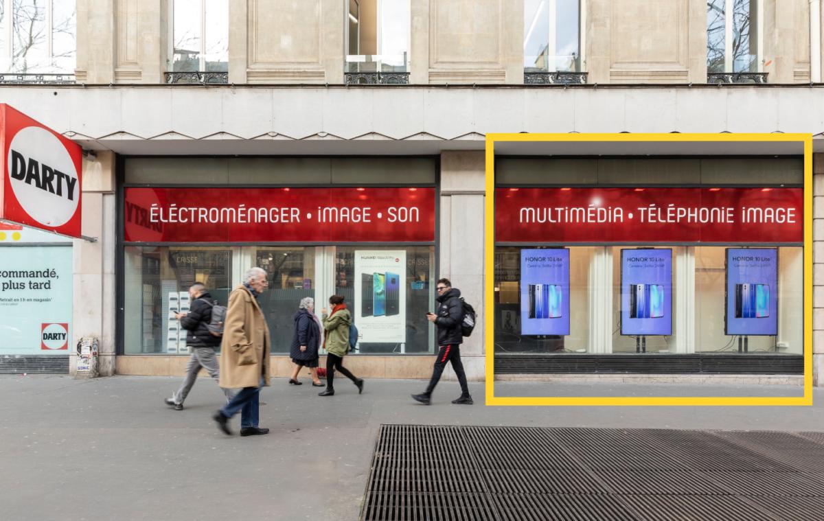 Retailink Fnac Darty OUTDOOH Fnac République