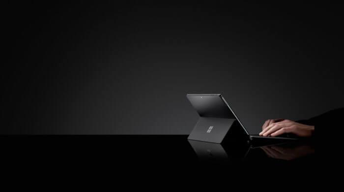 Visuel Microsoft Surface Black