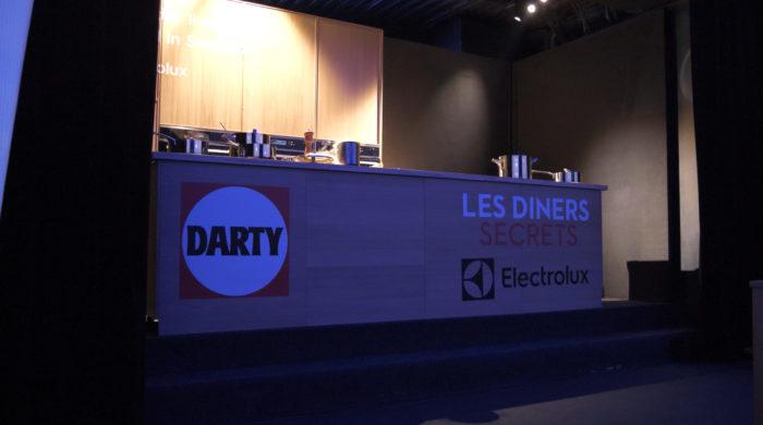 Visuel Les dîners secrets Darty avec Electrolux #1