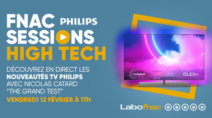 Visuel Livestream TV Philips 65 OLED 935